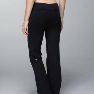 Lululemon Astro Pants Size 6 Regular Black Luon